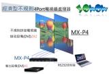 經濟型不規則 4Port電視牆處理器