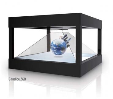 3D浮空展示櫃(Yowow)