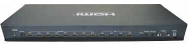 Yowow -HDMI 4進8出矩陣切換器(高解析/RS232/IR)