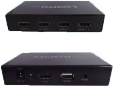 Yowow - HDMI 1對4分配器(高解析4K2K)