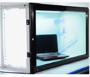 Yowow透明顯示-32吋穿透式TFT LCD廣告show case