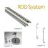 雙軸桿Rod System極簡美學廣告機